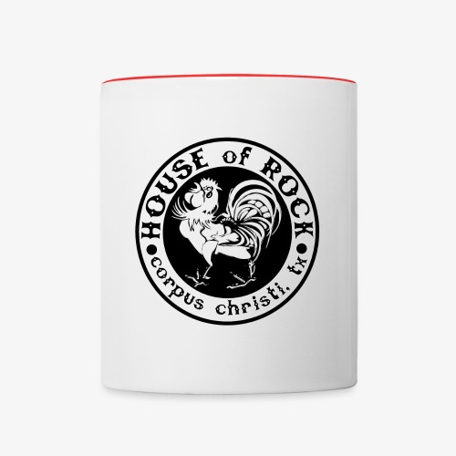 House of Rock round logo - Contrast Coffee Mug