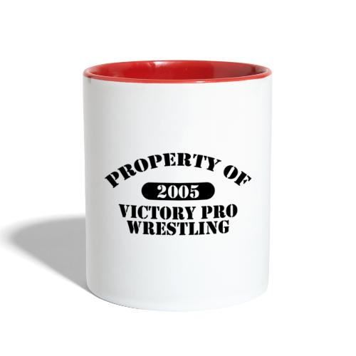 Property of Victory Pro Wrestling - Contrast Coffee Mug