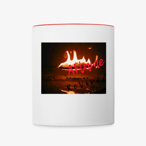 A Flame Revived - Contrast Coffee Mug