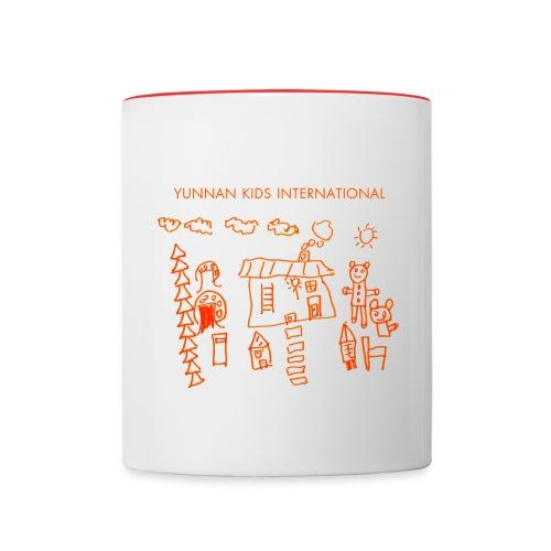 Sunshine orange - Contrast Coffee Mug