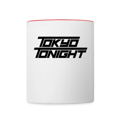 Tokyo Tonight Font Wh - Contrast Coffee Mug