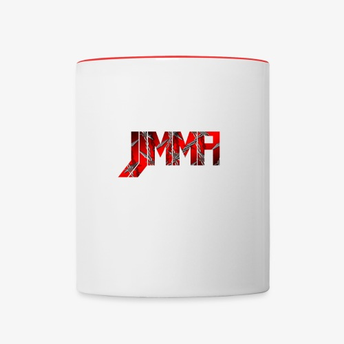 Official JJMMA LOGO barbed wire - Contrast Coffee Mug