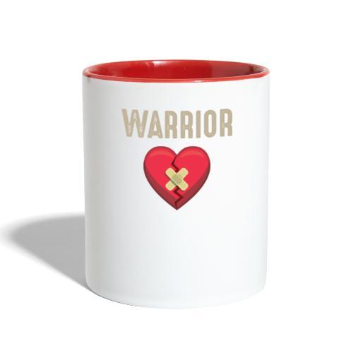Warrior (Heart Surgery) - Contrast Coffee Mug