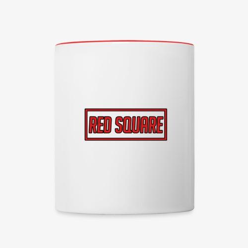 Red Square Logo V2 - Contrast Coffee Mug