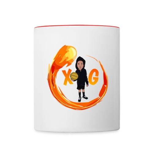 XG logo - Contrast Coffee Mug