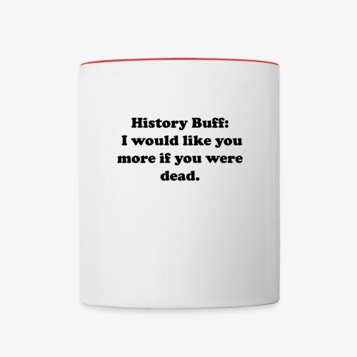 History Buff - Contrast Coffee Mug