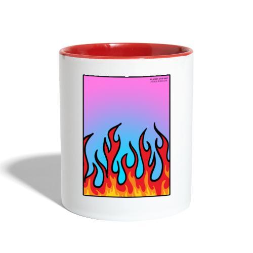 FLAMES 'N' STUFF - Contrast Coffee Mug
