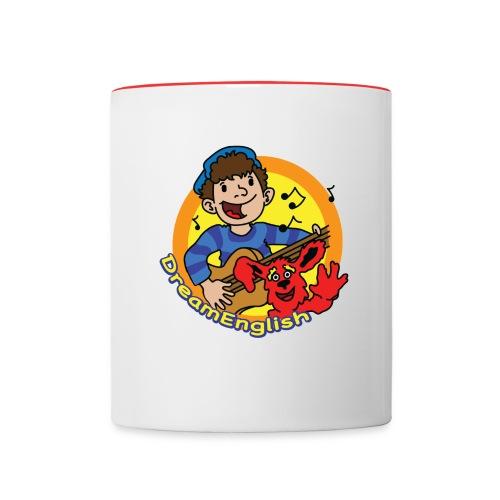 Dream English Matt and Tunes Mug - Contrast Coffee Mug