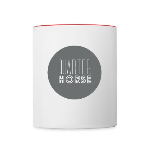 qhlogo gr gif - Contrast Coffee Mug