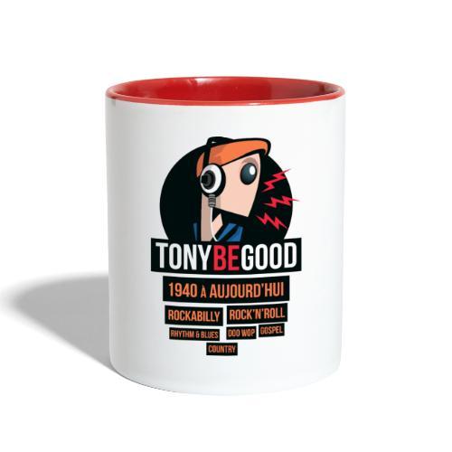 Tony Be Good - Logo - Contrast Coffee Mug