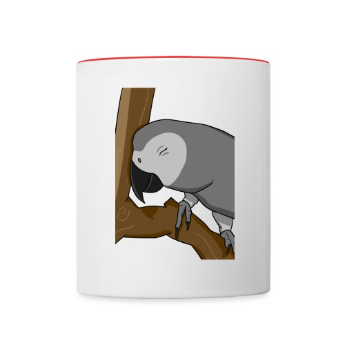 Cocoa Birb - Contrast Coffee Mug