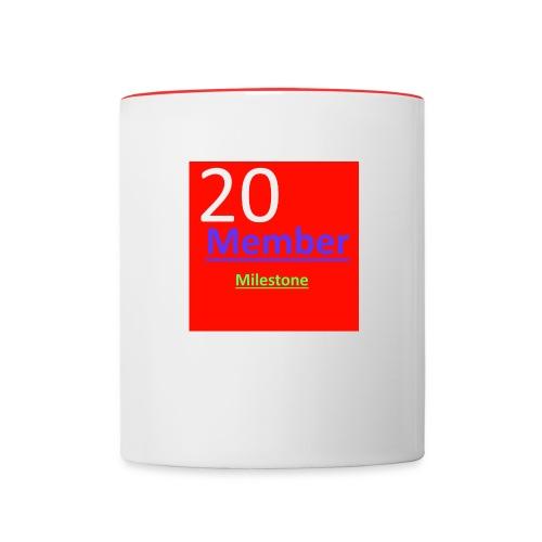 20m Milestone Mug - Contrast Coffee Mug