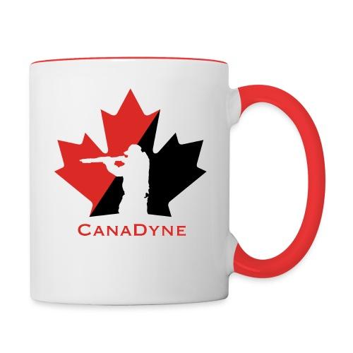 CanaDyne Logo HiRes - Contrast Coffee Mug