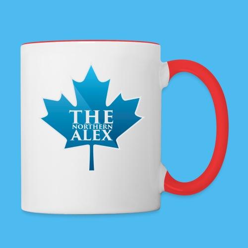 TheNorthernAlex-Logo - Contrast Coffee Mug
