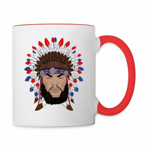 Dane Calloway American Indian Logo - Contrast Coffee Mug