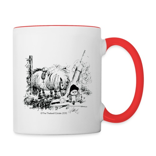 PonyFail Thelwell Cartoon - Contrast Coffee Mug