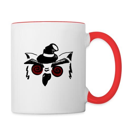 suspicious hibou dark emp - Contrast Coffee Mug