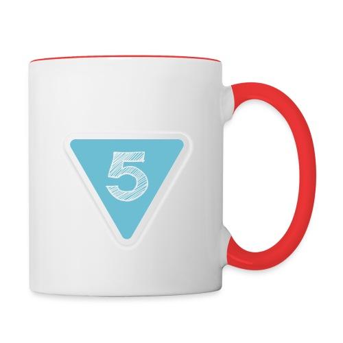 Take 5 Logo High Res jpg - Contrast Coffee Mug