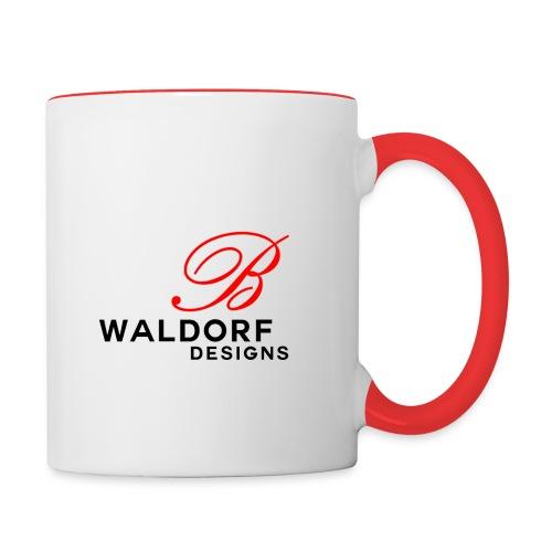 waldorf designs png - Contrast Coffee Mug