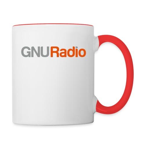 GNU Radio Logo No Icon - Contrast Coffee Mug