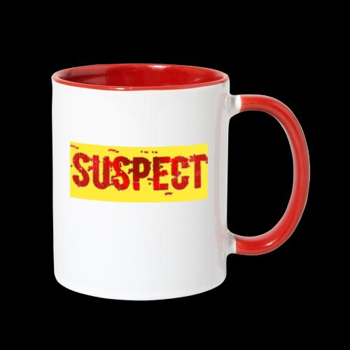 SUSPECT - Contrast Coffee Mug