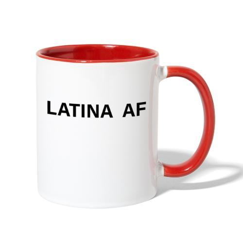 latina af - Contrast Coffee Mug