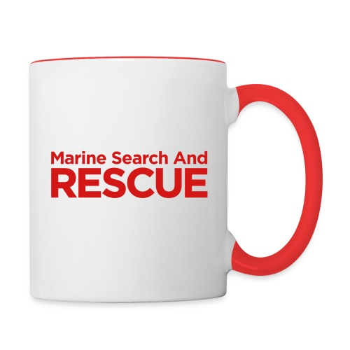 Marine Search and Rescue - Contrast Coffee Mug
