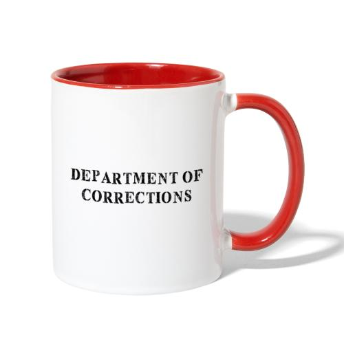 Department of Corrections - Prison uniform - Contrast Coffee Mug