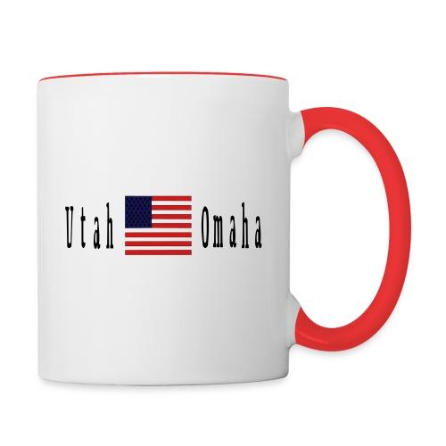 USA Utah Omaha D Day - Contrast Coffee Mug