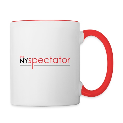 NY Spectator png - Contrast Coffee Mug