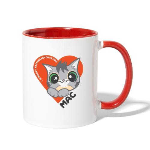 Mac Heart - Contrast Coffee Mug