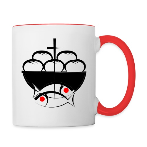 FishBread png - Contrast Coffee Mug
