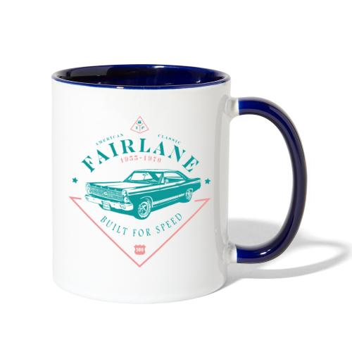 Ford Fairlane - Built For Speed - Contrast Coffee Mug