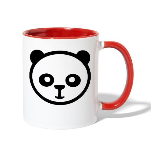 Panda bear, Big panda, Giant panda, Bamboo bear - Contrast Coffee Mug