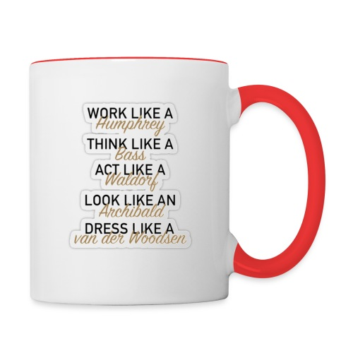 GG sticker LARGE png - Contrast Coffee Mug