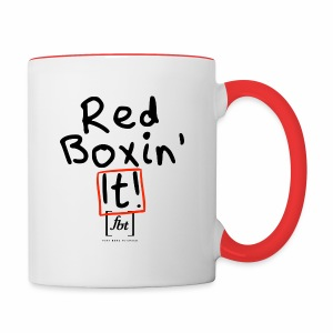 Red Boxin' It! [fbt] - Contrast Coffee Mug
