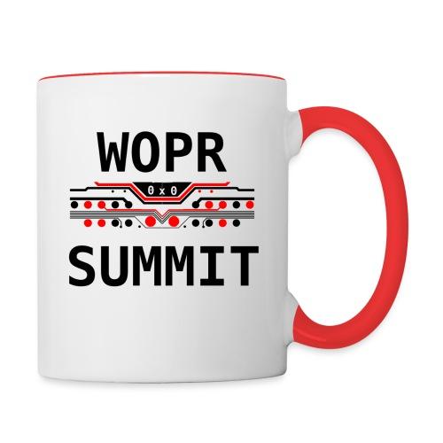 WOPR Summit 0x0 RB - Contrast Coffee Mug