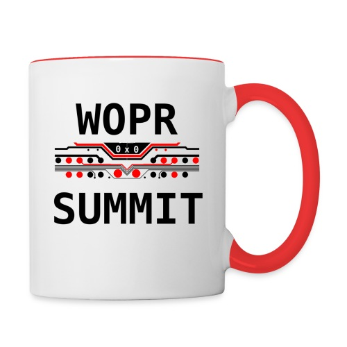 WOPR Summit 0x0 RB - Contrast Coffee Mug