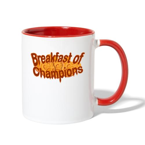 Breakfast of Champions - Contrast Coffee Mug