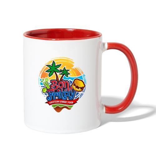 Bon Fritay Logo - Contrast Coffee Mug