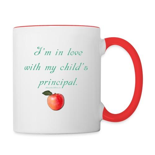 Love Principal - Mom - Contrast Coffee Mug