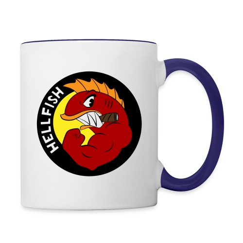 Hellfish - Flying Hellfish - Contrast Coffee Mug