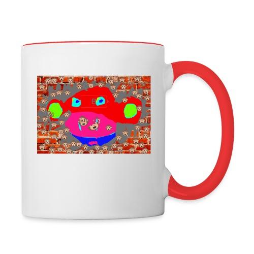 monkey by brax - Contrast Coffee Mug