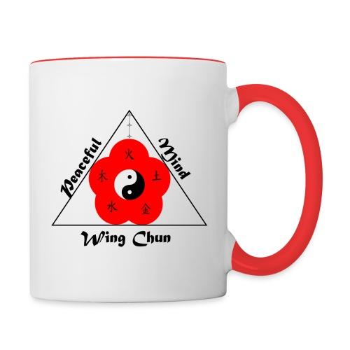 Peaceful Mind Vector - Contrast Coffee Mug