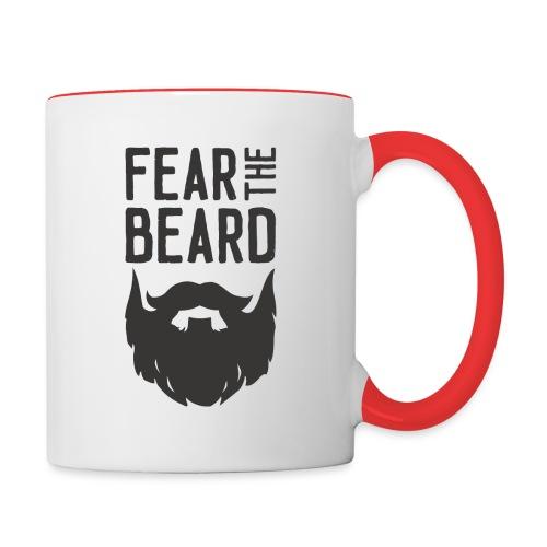 Fear the Beard - Contrast Coffee Mug