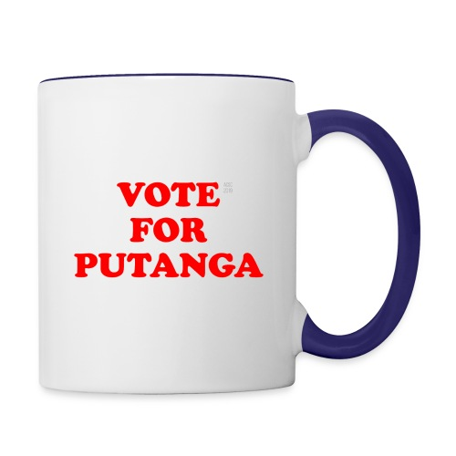 Vote For Putanga - Contrast Coffee Mug
