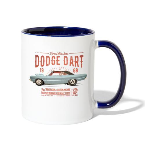 Dodge Dart Dragster Street Machine 1969 - Contrast Coffee Mug
