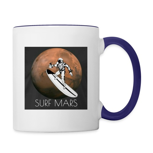 space surfer - Contrast Coffee Mug