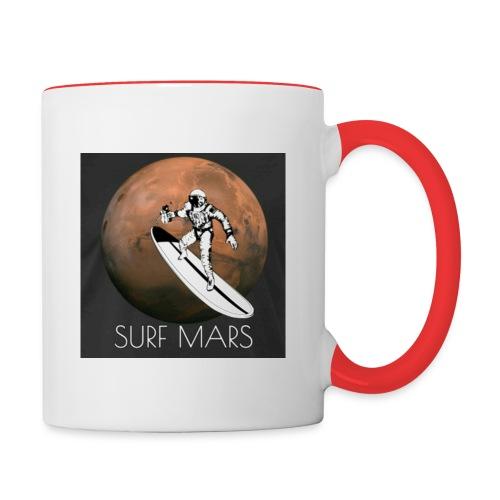 space surfer - Contrast Coffee Mug