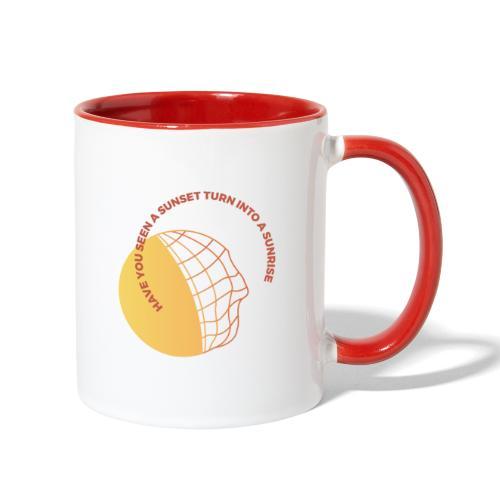 Sunset & Sunrise - Contrast Coffee Mug